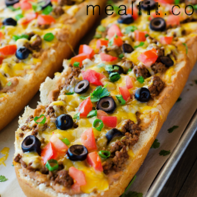 Taco French Bread