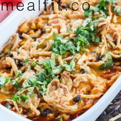 Shredded BBQ Chicken Casserole