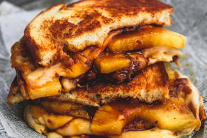 Easy Hawaiian Grilled Cheese