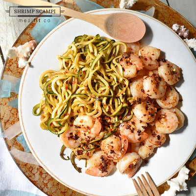 20-Minute Lean Shrimp Scampi