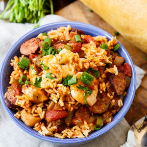 Spicy Slow Cooker Jambalaya