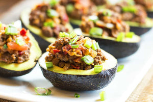 Ground Turkey Taco Stuffed Avocados