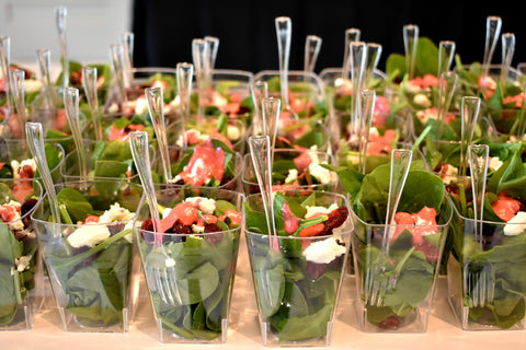 Mini salad appetizers