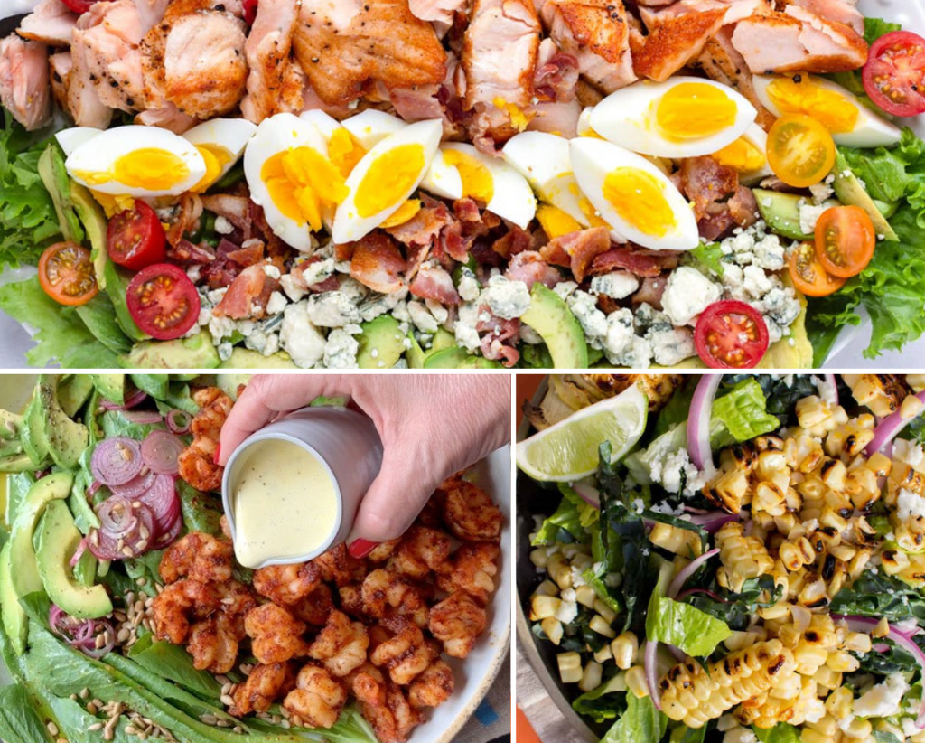 3 refreshing and simple shareable salads