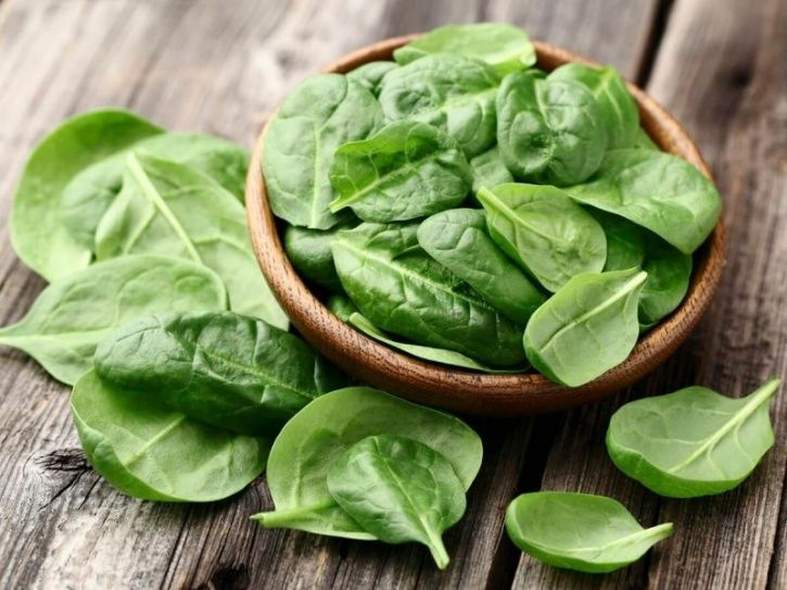 Spinach inflammatory benefits