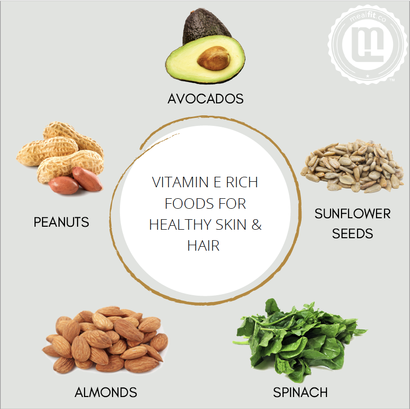 Vitamin E Rich Foods for Healthy Skin and Hair