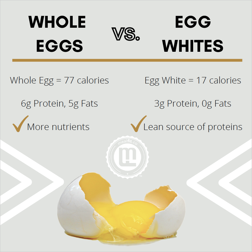 What part of egg is best infographic