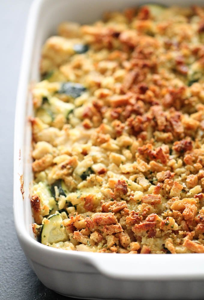 Weeknight Chicken & Zucchini Casserole for the Whole Family