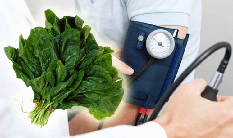 Spinach blood pressure benefits