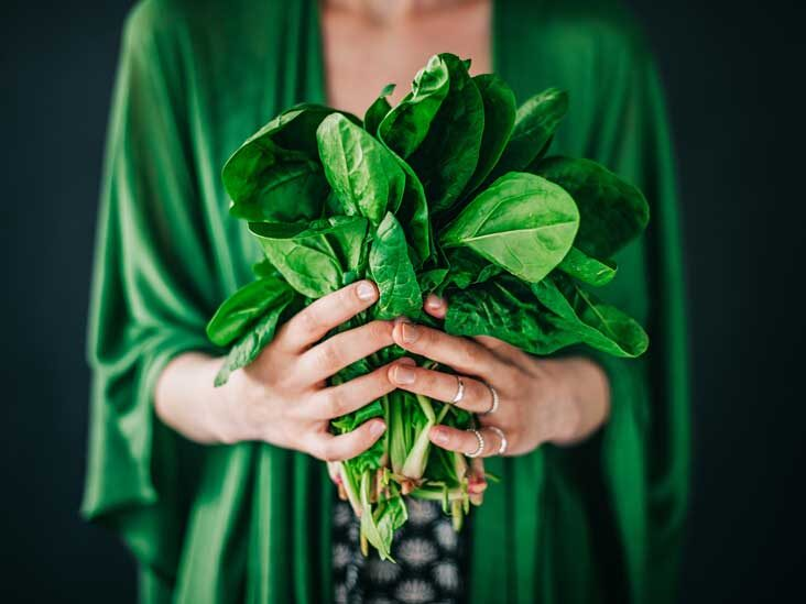 Spinach cancer benefits