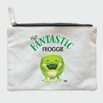 The Amazing Animal Series : The Fantastic Froggie : Cotton Zipper Pouch