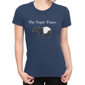 Tapir Times Maximus Ladies Round Neck Tshirt 160gsm