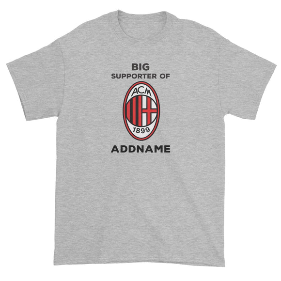 AC Milan Big  Supporter Personalizable with Name Unisex T-Shirt