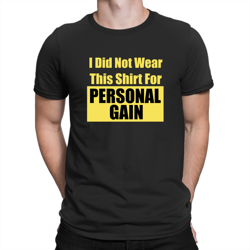 Personal Gain Gildan Premium Cotton Adult T-Shirt 76000