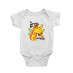The Amazing Animal Series : The Famous Giraffe : Baby Romper