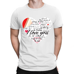 """I Love You"" Gildan Softstyle Adult T-Shirt 63000"