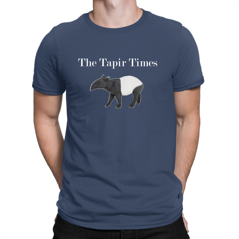 The Tapir Times Large Logo Gildan Premium Cotton Adult