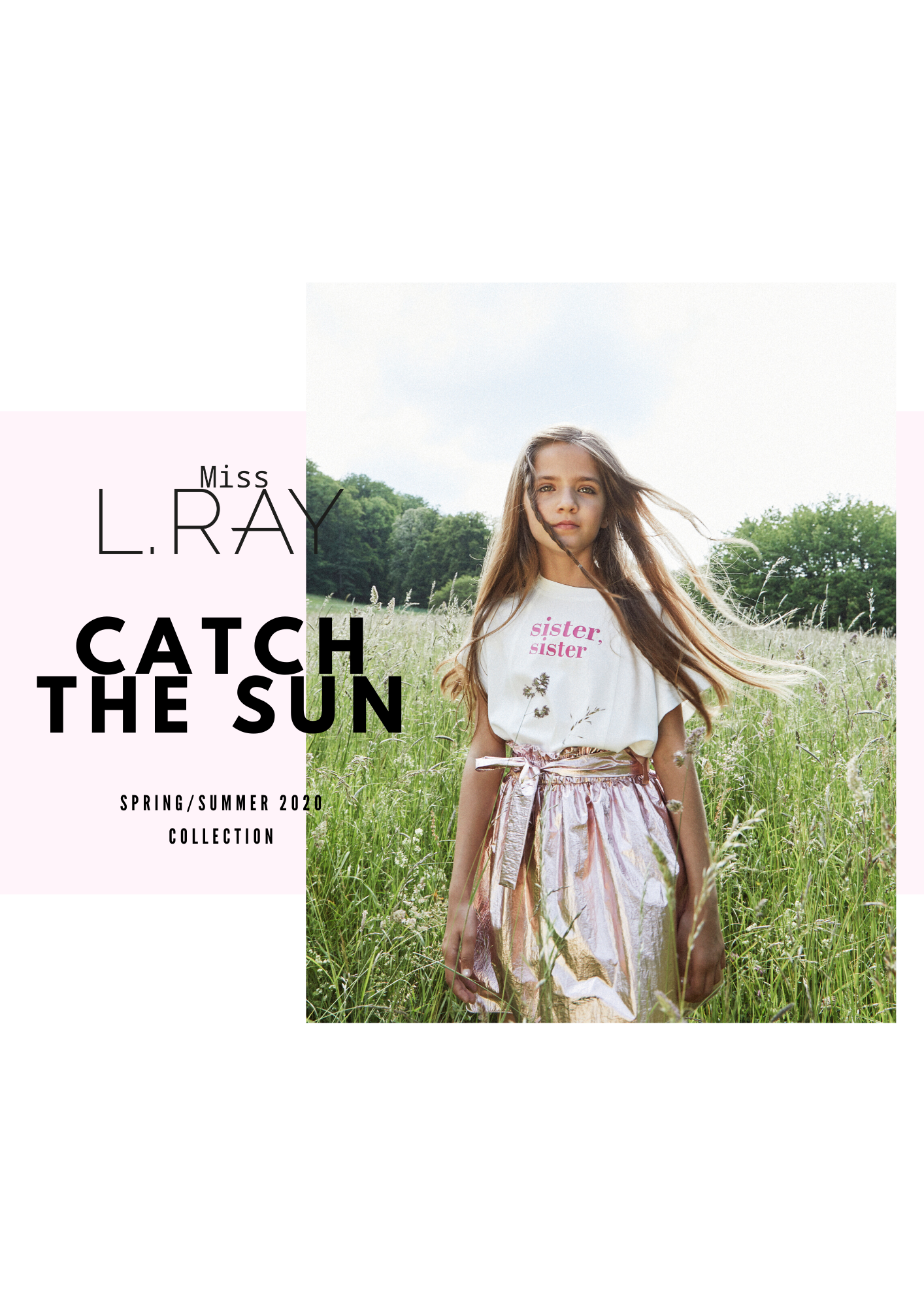 Miss L. Ray teen fashion and childrenswear Spring Summer 2020
