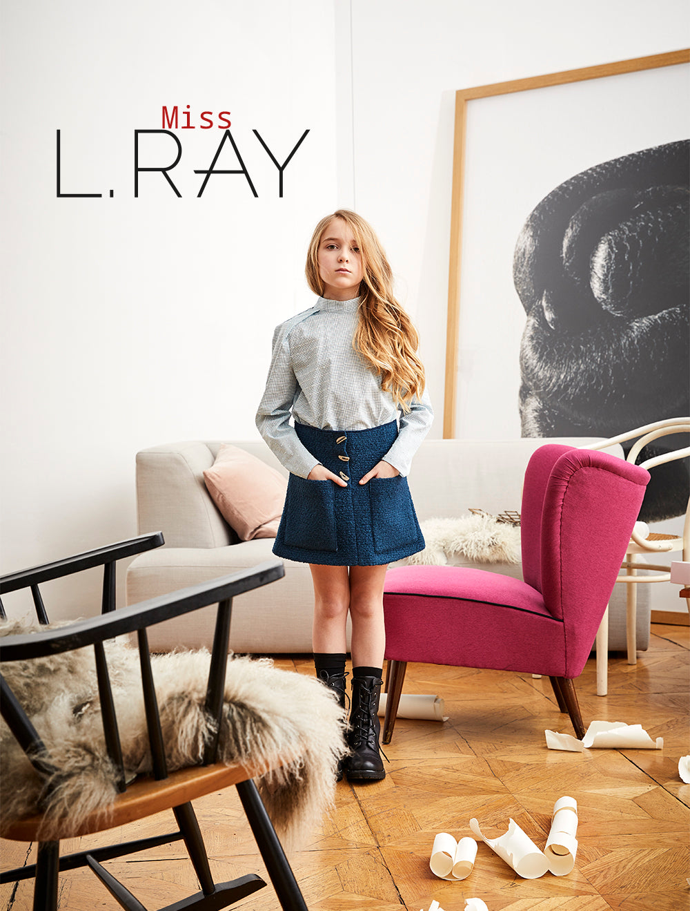 Miss L. Ray teen fashion and childrenswear AW 2018 cover image