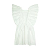 DRESS EVE WHITE FLOURESCENT