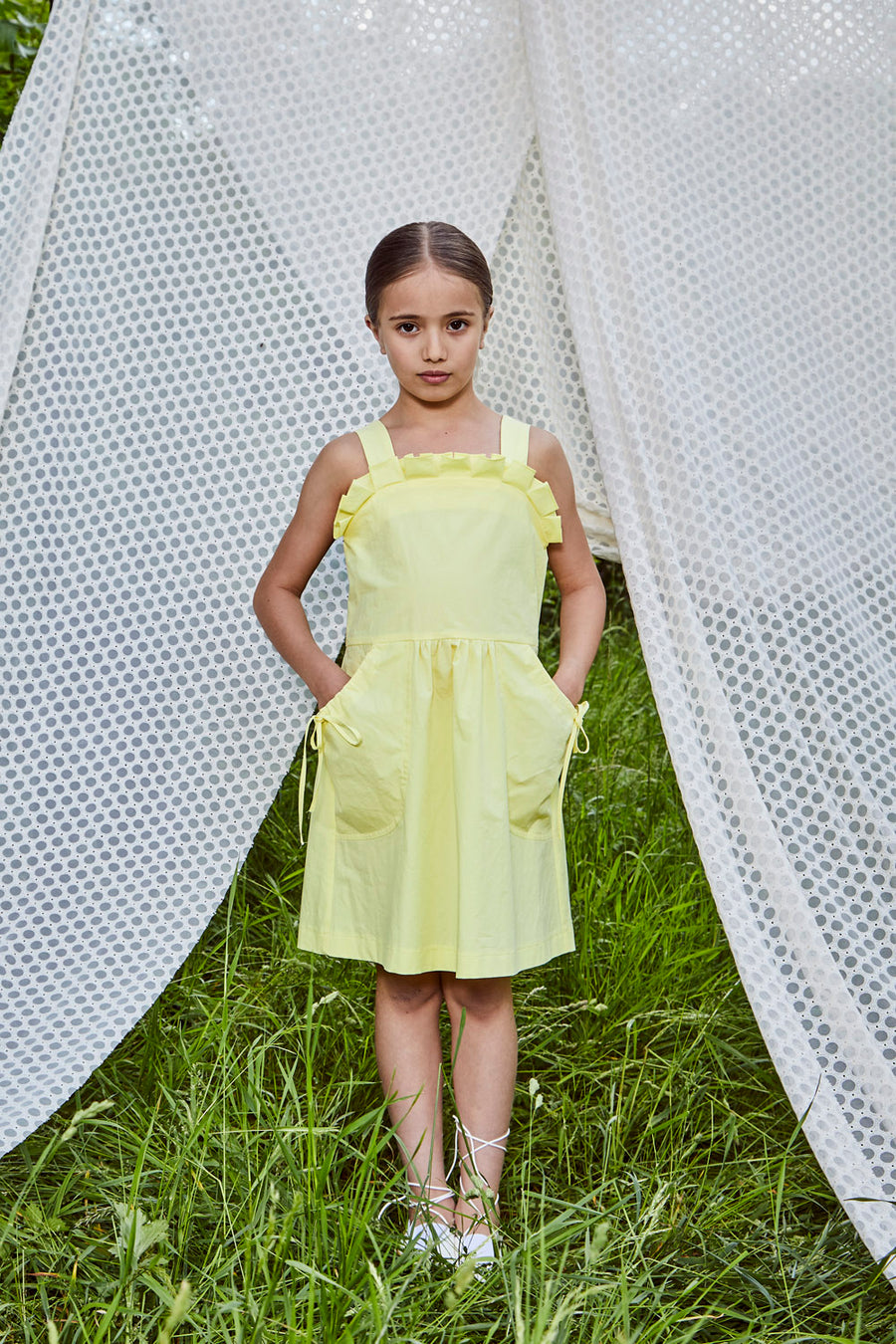 DRESS ELLIOTT YELLOW
