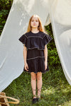 DRESS GRACIE BLACK/SAND