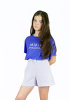 Miss L. Ray Shorts Ivy blue children and teen fashion