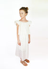 Miss L. Ray Skirt Merritt cream broderie children and teen fashion