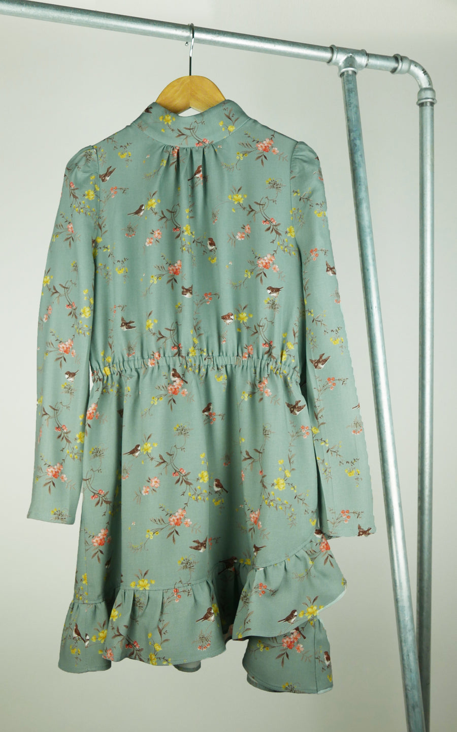 miss L. Ray Lucienne dress bird print children and teen fashion
