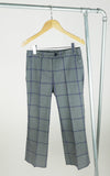 miss L. Ray Lake trousers tartan blue children and teen fashion