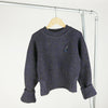 miss L. Ray Avery sweater blue merino children and teen fashion