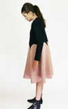 miss L. Ray Easton dress salmon/black children and teen fashion