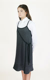 miss L. Ray Clio dress grey children and teen fashion