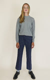 miss L. Ray Lake trousers blue/green children and teen fashion