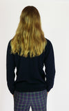 miss L. Ray Sophie cashmere sweater navy children and teen fashion