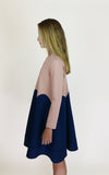 miss L. Ray Easton dress salmon/blue children and teen fashion