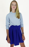 miss L. Ray Cerys blue skirt children and teen fashion