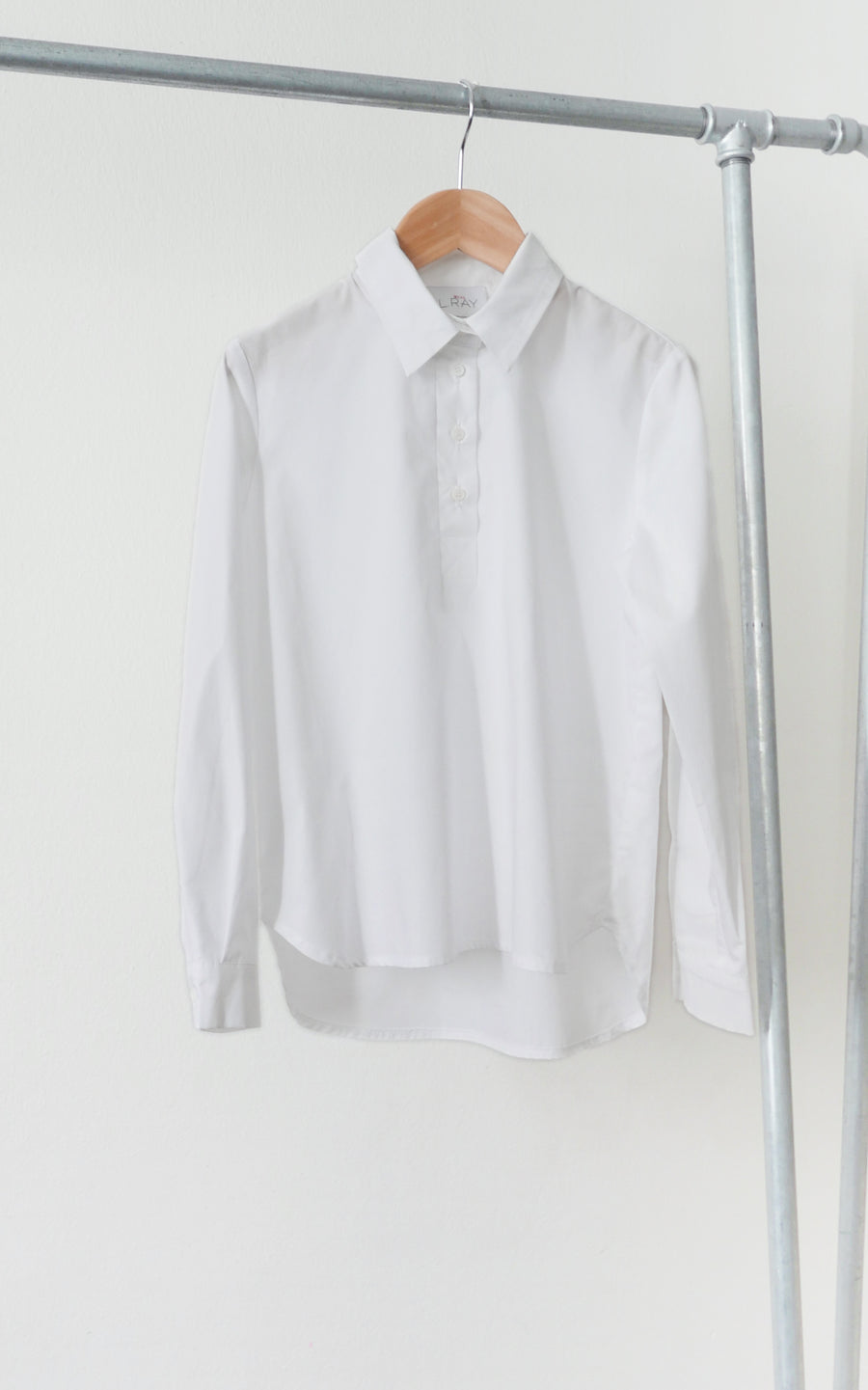 miss L. Ray Paz white shirt children and teen fashion