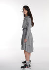 Miss L. Ray teen fashion and childrenswear Dress Bobbie grey