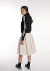 Miss L. Ray teen fashion and childrenswear Skirt Eddie beige denim