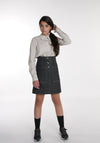 Miss L. Ray teen fashion and childrenswear Skirt Cara blue denim