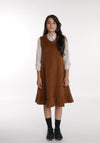 Miss L. Ray teen fashion and childrenswear Dress Agnes camel