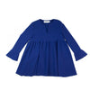 miss L. Ray November dress electric blue children and teen fashion