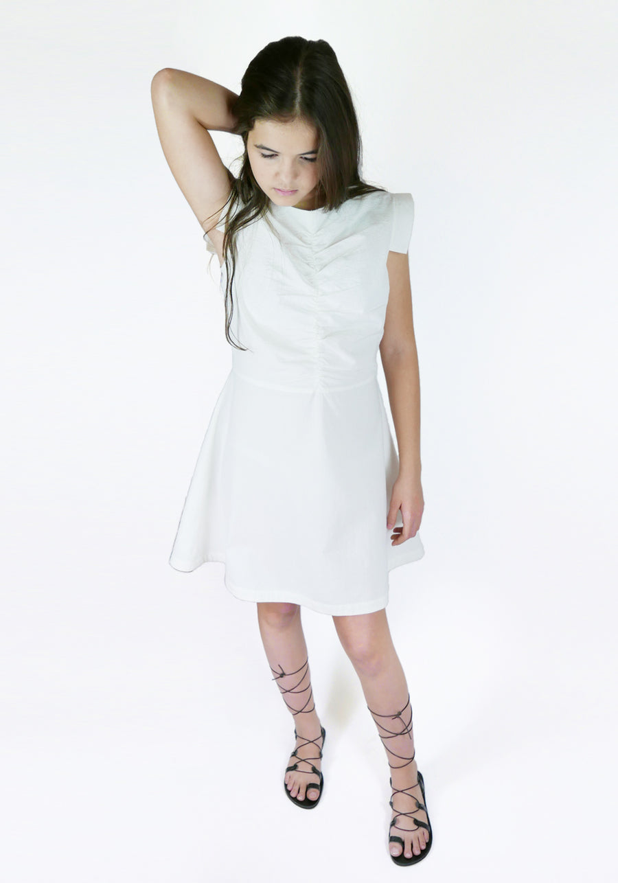 Miss L. Ray Dress Robyn sand children and teen fashion