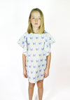 Miss L. Ray Fashion for children & Teens Dress Summer Blue Butterfly