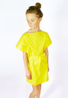 Miss L. Ray Dress Zoey yellow children and teen fashion