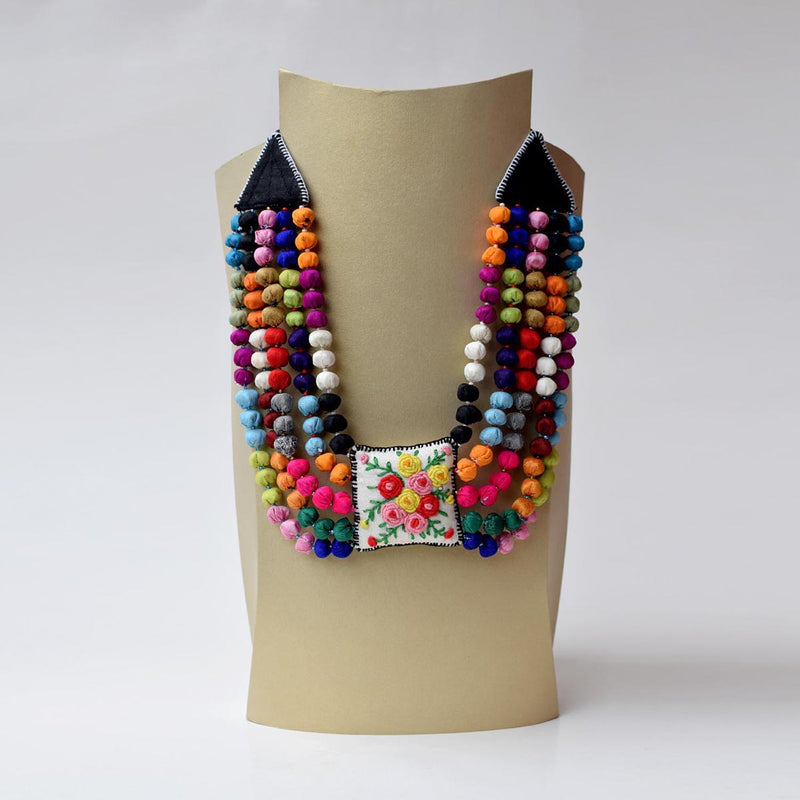 Rekha Neckpiece- Multicolor-RE-N3