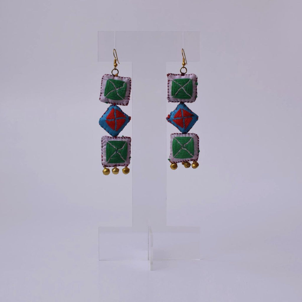 Kamli 3 Earrings - KL3-E4