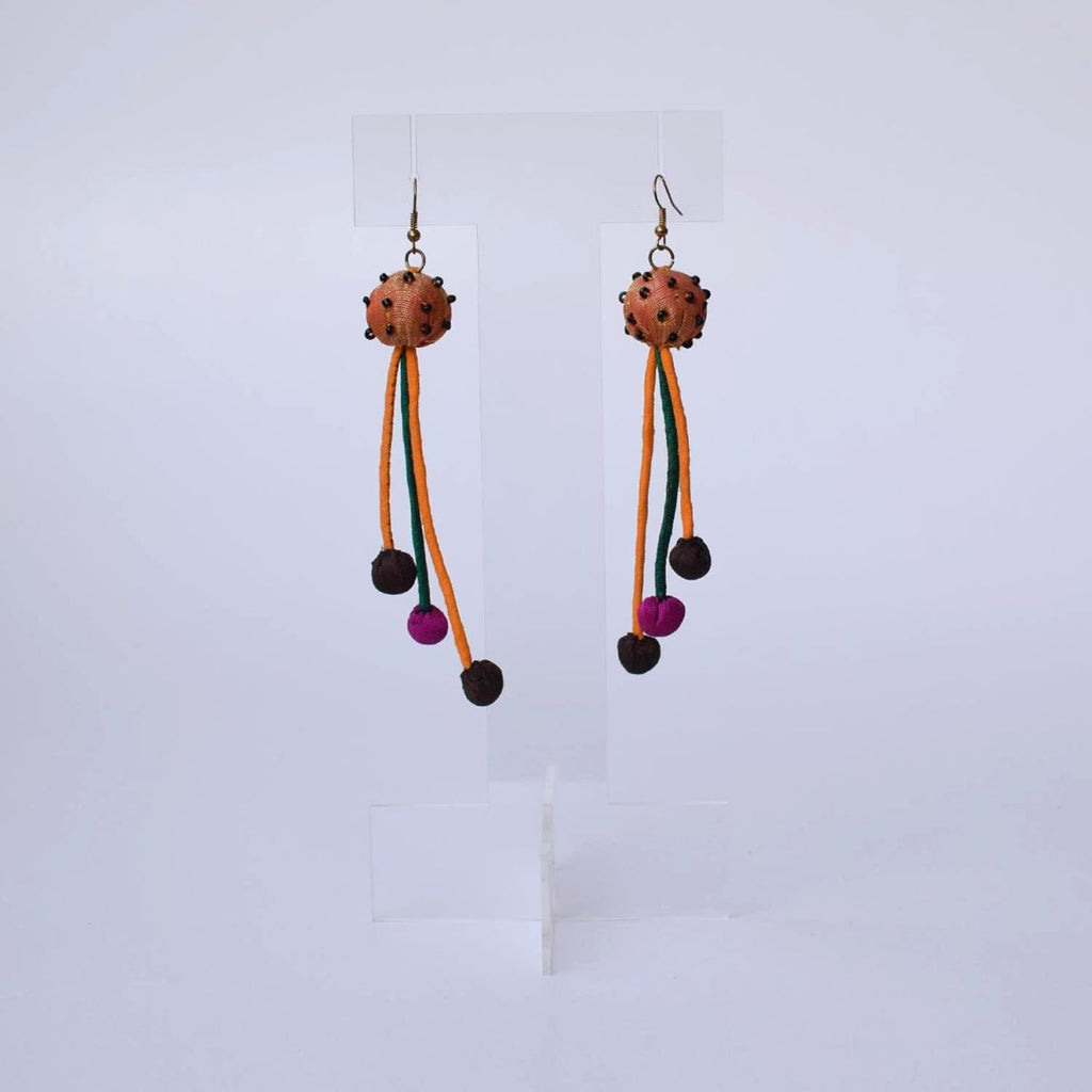 Aarchi Earrings-3 strings - AAR3-E10