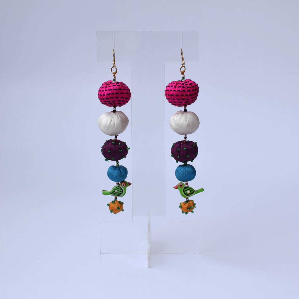 Long Tia Earrings-TLO-E127